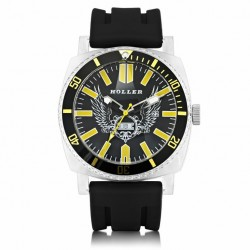 Holler Men's Chocolate City Black Watch