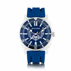Holler Men's Chocolate City Navy Watch